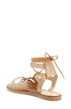 b5b5944b9f7 Steve Madden  Rella  Ankle Wrap Sandal (Women)