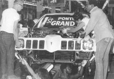 1973 Pontiac being built 73 Grand Am