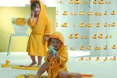 żółta łazienka z dziecięcych marzeń