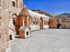 Inner Courtyard. Ishak Pasha Palace Turkey