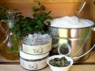 Peppermint, Eucalyptus and Tea Tree Body Scrub.    Exfoliate and moisturize your skin... Relax your achy muscles with a refreshing and cooling blend of Peppermint, Eucalyptus and Tea Tree essential oils...