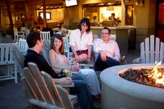 End your night on Hilton Head Island by one of our outdoor fire pits