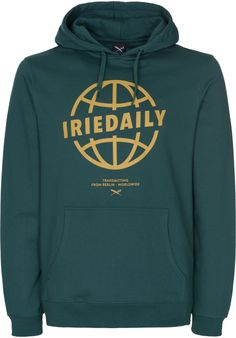 iriedaily Globedaily - titus-shop.com  #Hoodie #MenClothing #titus #titusskateshop