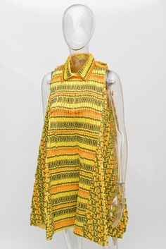 Rebecca Minkoff dress made of Crayolas for Bloomingdale | photo Matthew Carasella