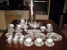 Comprehensive Aynsley Indian Tree Tea/Coffee Set Perfect Christmas/Boxing Day | eBay