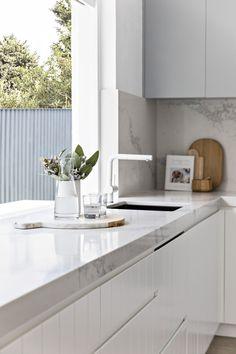 Vaucluse — U-Neek Interior Solutions Farm Kitchen Ideas, Cow Kitchen Decor, French Kitchen Decor, Kitchen Benches, Kitchen Decor Themes, Modern Kitchen Design, Interior Design Kitchen, Diy Kitchen, Cheap Kitchen