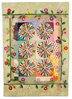 Butterflies in the Garden by Anna Sinitsyna, Empire Quilters Guild
