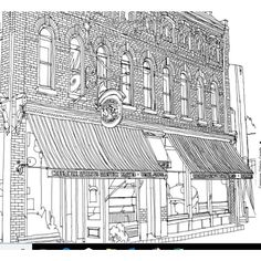 Fantastic Cities Coloring Book Of Amazing Places Real And Imagined Paperback