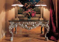 Die Klassischen Italienischen Möbel Provasi Reich Verzierter Konsolentisch