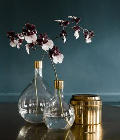 large and small glass vases $9.95-$14.95 | H&M US