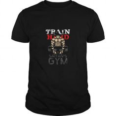 I Love TRAIN HARD  Gokus GYM SHIRT T shirts