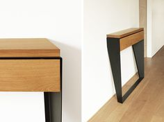 Console Wooden Side Table