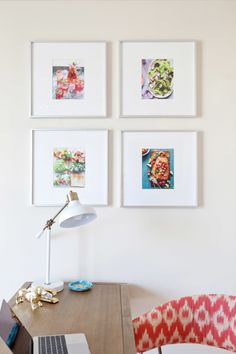 Some of Gaby's favorite food photography work adds color to the white space.