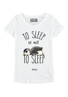 "T-shirt ""To sleep"""