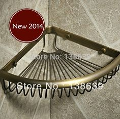 71.93$  Buy here - http://alitiq.worldwells.pw/go.php?t=32247018239 - Free shipping 2016 new design Brass bathroom Shelves,wrought iron wall shelves in the bathroom,bathroom accessories,promotion
