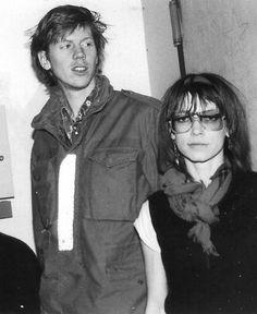 Thurston Moore and Kim Gordon