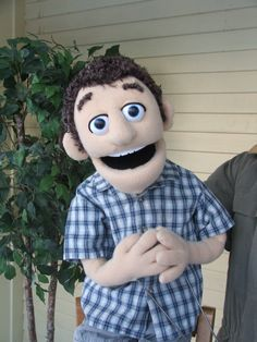 Vince by PJs Puppets -- custom professional puppet