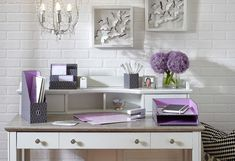 Decorating with the 2014 Colour of the Year - Orchid - use it sparingly as an accent. Decorating With Purple Purple Rooms - Oprah.com