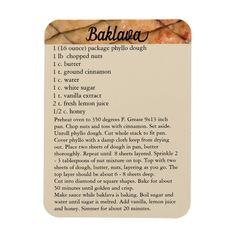 Baking Recipes, Cookie Recipes, Dessert Recipes, Dessert Bars, Mexican Wedding Cookies, Mexican Cookies, Baklava Recipe, Phyllo Dough, Greek Recipes