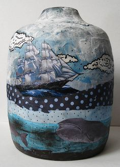 Ceramic The Whaling Vessel by sarahogren on Flickr