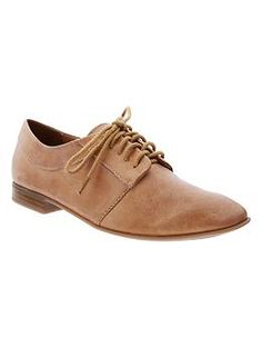 Lace-up oxfords from GAP. Gap, people, GAP!