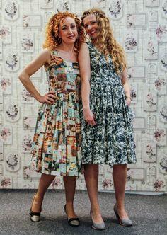 Sommerkleider im 50er Jahre Style von klennes
