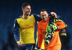 Giroud and Ospina
