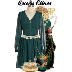 """""""Queen Elinor"""" by amarie104 on Polyvore"""