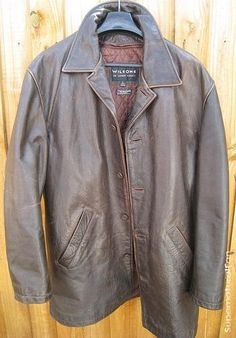 Supernatural (TV) (2005) costumes wardrobe Dean Winchesters Leather Jacket.  If I could have any leather jacket, this would be the one.