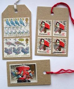 Like tags and old stamps so I think these are very nice (Papernstitch)