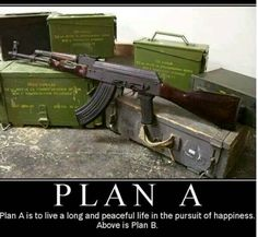 Every red blooded American needs to be prepared for plan B just in case. I personally will not protect the liberal sissies if it gets to that point. They're on their own.