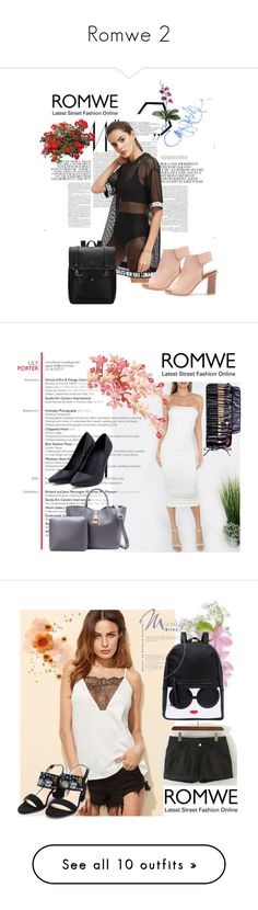 """""""Romwe 2"""" by aida-1999 ❤ liked on Polyvore featuring Mix & Match and Kate Spade"""