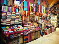 What the Color of our Clothes Says about our Personality. Alex Myles Via Alex Myles on Sep 2015 Mon Cheri, Monuments, Pays Europe, India Bazaar, Sari Shop, Shabby Apple, Istanbul Travel, Europe On A Budget, Places