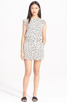 Kate Spade dot print romper: http://www.stylemepretty.com/living/2015/06/16/rompers-youll-want-to-live-in-this-summer/