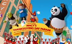 Macy's Thanksgiving Day balloons