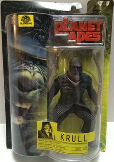(TAS008160) - Planet of the Apes - Krull with Battle Staff