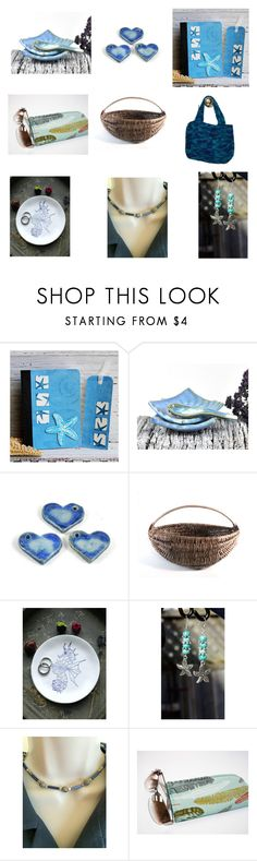 """""""Picnic at the Beach"""" by audacitywear ❤ liked on Polyvore featuring vintage and handmade"""