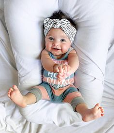 Okay, these are my favs - Set: Baby Headbands (Buttercup Floral Flat Bow, Dusty Rose Top Knot & Ink Blots Top Knot So Cute Baby, Cute Baby Clothes, Cute Kids, Cute Babies, Cute Toddlers, Foto Baby, Toddler Headbands, Girl Headbands, Crochet Headbands