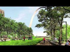 St. Louis Gateway Arch Grounds Project | CityArchRiver 2015