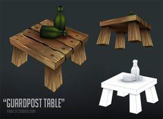 Guardpost - Table by PLyczkowski.deviantart.com on @deviantART