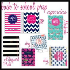 Back to School Prep: Agendas