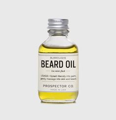 Prospector Co., one of the best beard oil every man who respects his beard can have. Check out which are the other beard oils that will change your beard life  #beards #beardoil #beardgrooming #beardlife