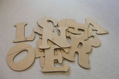 Custom Wooden Letters Names Words Wall Decorations YOUR NAME 15 cm 6 inch height