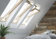 LB Roof Windows has launched a new campaign highlighting the potential for utilising rooflights in attic spaces Roof Dome, Conservatory Roof, Roof Lantern, Roof Window, Attic Conversion, Attic Spaces, Moving House, Flat Roof, Skylight