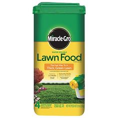 MiracleGro 1001833 Lawn Food Water Soluble Lawn Fertilizer 6 Pack 5 lb * Click image for more details.