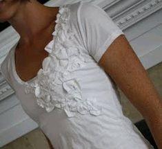 Circle Flower Tee- LISA!!!!!!!  ok, i need to take my sewing machine in....