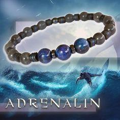 🤟 ADRENALIN - prémium ásvány karkötő kianittal (10mm), labradorittal és vérkővel Labrador, Beaded Bracelets, Jewelry, Jewellery Making, Jewerly, Jewelery, Pearl Bracelets, Jewels, Labradors