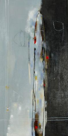 Preüsence Divinatoire, Mixed Media Painting, Poulin