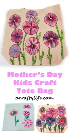 mothers day gift - mothers day craft - spring kid crafts- kid crafts - acraftylife.com #preschool mothers day gift