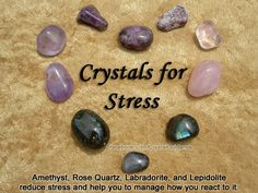 for Stress- Get these crystals here https://www.etsy.com/ca/shop/MagickalGoodies